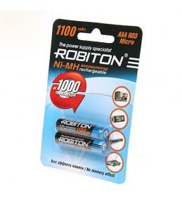 Аккумуляторы ROBITON AAA Ni-MH 1100mAh
