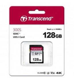 Карта памяти Transcend 300S 128Gb SDXC UHS-I U1 (95/45 MB/s)