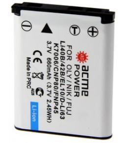 Аккумулятор Acme Power Olympus LI-40B/LI-42B