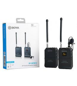 Микрофонная радиосистема Boya BY-WFM12 12-канальная беспроводная