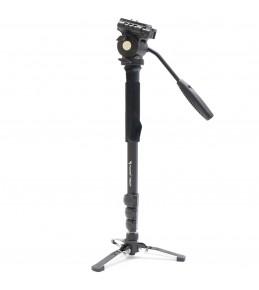 Монопод FUJIMI FM222V алюминиевый с головой и опорой для видеосъемки