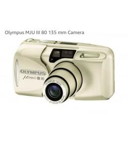 Плёночный фотоаппарат Olympus mju III ZOOM 80