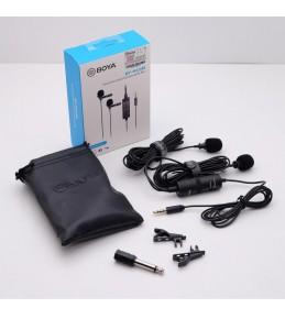 Микрофон Boya BY-M1DM Двойной петличный