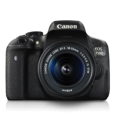 CanonEOS 750D Kit 18-55 iS STM