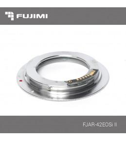 Переходное кольцо Fujimi FJAR-42EOSi II M42-Canon с чипом 9 поколения, поддержка 5D Mark IV