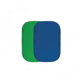 Фон хромакей  Fujimi FJ 706GB-180/210  Складной 180х210 см синий/зелёный