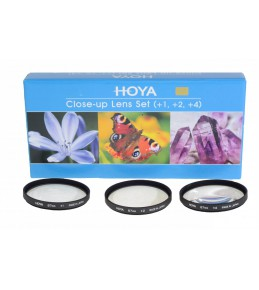 Светофильтр Hoya CLOSE UP SET (+1+2+4) HMC 52 НАБОР