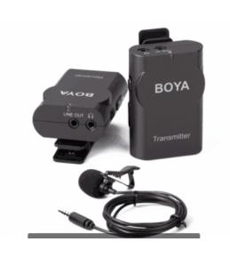 Микрофон беспроводной петличный BOYA BY-WM4 (радиосистема)
