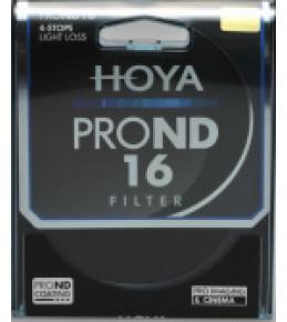 Светофильтр HOYA NDPRO ND16 58mm Нейтрально серый