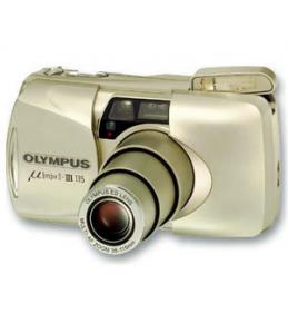 Плёночный фотоаппарат Olympus Mju-III Zoom 115