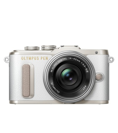 Olympus PEN E-PL8 kit  14-42mm EM-Z белый