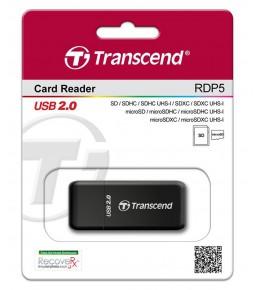 Картридер TRANSCEND RDP5  USB2.0