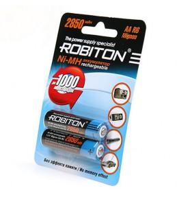 Аккумуляторы ROBITON AA Ni-MH 2850mAh