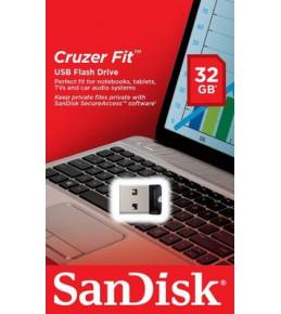 Флешка Sandisk 32 Gb Cruzer Fit SDCZ 33-032 G-B 35 USB 2.0