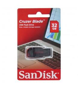 Флешка SANDISK Cruzer Blade 32Гб, USB 2.0